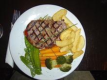 SIRLOIN STEAK WIKIPEDIA 220px-Sirloin_steak