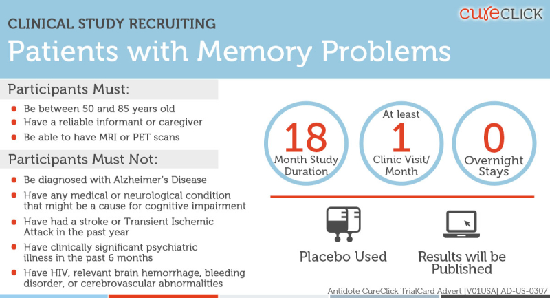 CureClick Memory Problems image